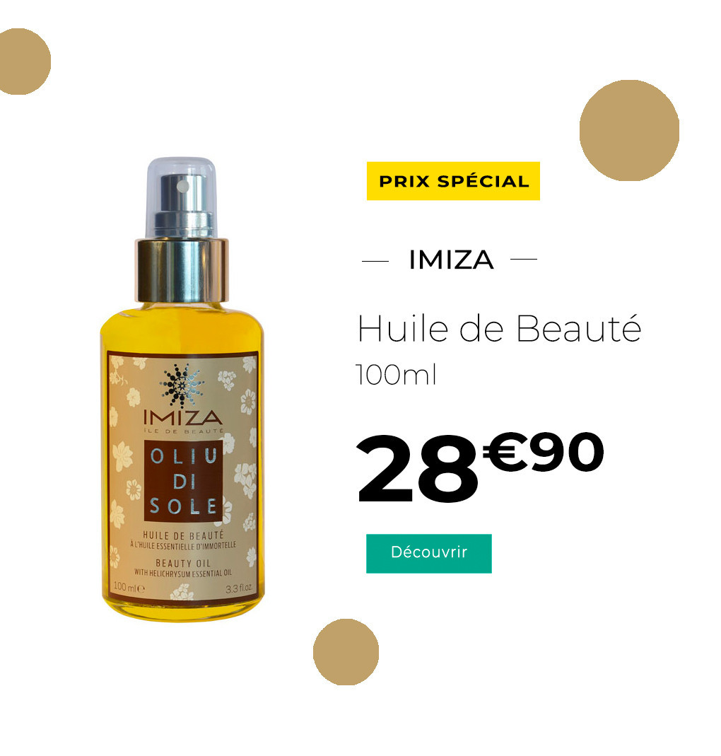 Imiza Huile de Beauté Oliu di Sole 100ml
