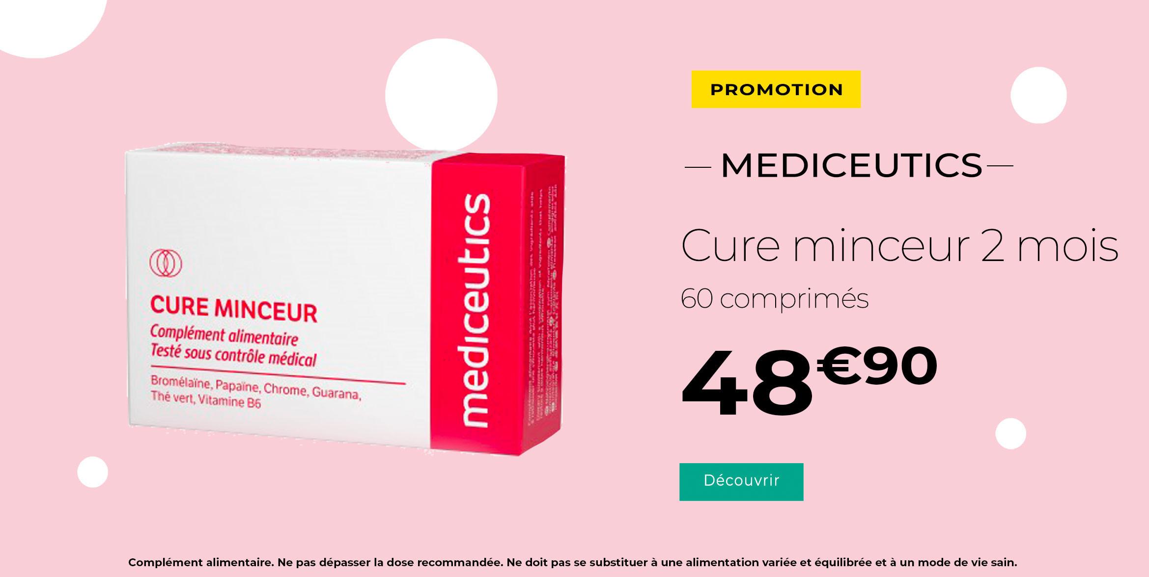 Mediceutic Medispa Mediceutics Cure Minceur 60 Comprimes